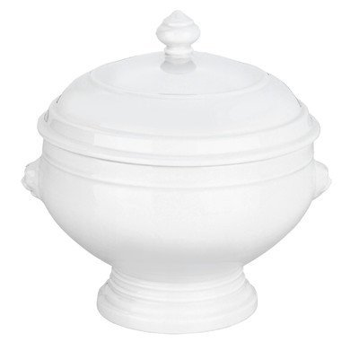 Pillivuyt Lion's Head Tureen with Lid, 3.5 Quart by Pillivuyt Pillivuyt Lions Head