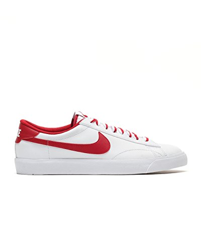 Nike Herren Tennis Classic AC ND Low-Top, Weiß (White/Gym Red-Gum Med Brown), 45 EU