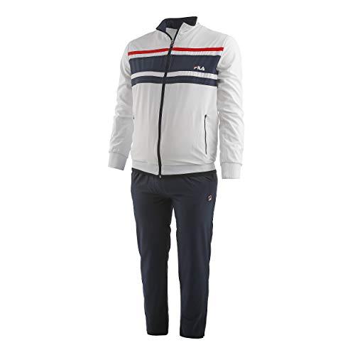 Fila Trainingsanzug Theo für Herren (weiß)-52