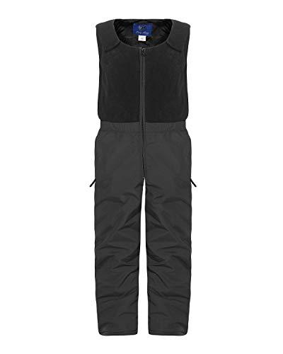 ZARMEXX Kinder Ski-und Snowboardhose mit Fleeceoberteil und Innenfutter (anthrazit, 128)