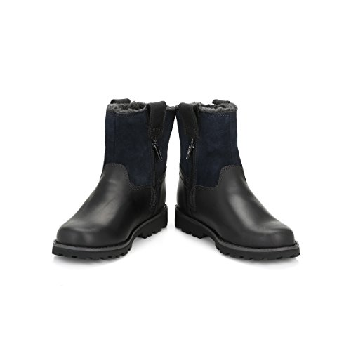 Timberland Youth Black Chestnut Ridge Warm Lined Boots-UK 13 Kids