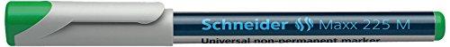 Preisvergleich Produktbild Schneider Schreibgeräte Universalmarker non-permanent Maxx 225 M, 1,0 mm, grün