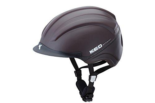 KED Reithelm Kanauro Kopfumfang 55-60cm, Größe L, Farbe Brown, Sportlicher Reithelm, der perfekt sitzt und maximale Sicherheit bietet!