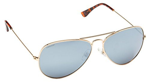 Cressi Nevada Sonnenbrille, Gold/Grau Linses, One Size