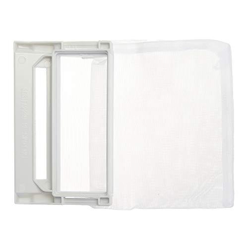 Kungfu Mall 100x60mm hellgrauer Waschmaschinen-Flusenfilter-Netzbeutel - Waschmaschine Flusenfilter