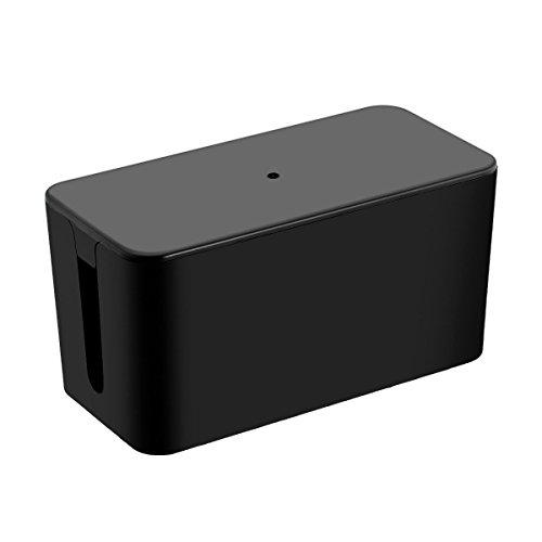 Cable Management Box organizzatore, Cozyswan Grande cavo di sicurezza Storage Box Sistema per Desk & TV & Computer Striscia cavo di alimentazione per coprire e nascondere tutti i fili elettrici