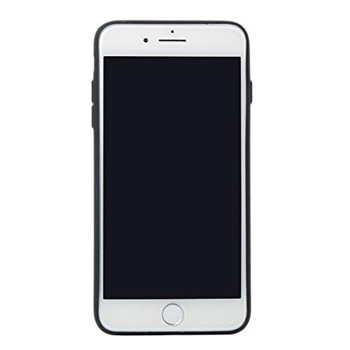 Étui en gel doux iPhone 8 Plus, Coque iPhone 7 Plus, Lifetrut Ultra Mince Doux [Motif en cuir] Housse en Caoutchouc TPU pour iPhone 8 Plus/ iPhone 7 Plus [01] E210