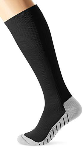 Hudson MOVE COMPRESSION Stützstrümpfe, Herren-Kompressionsstrümpfe für Sport & Freizeit, sportliche & atmungsaktive Kniestrümpfe (schwarz), Menge: 1 Paar