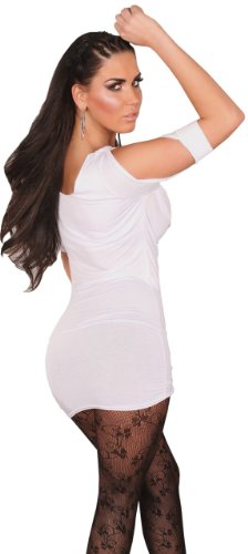 En style femme avec chaîne &wasserfalloptik taille unique (32–38) Blanc - blanc