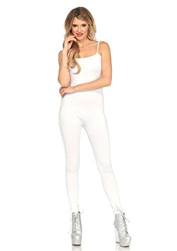 Leg Unitard (Basic White Adult Costume Unitard Medium/Large)