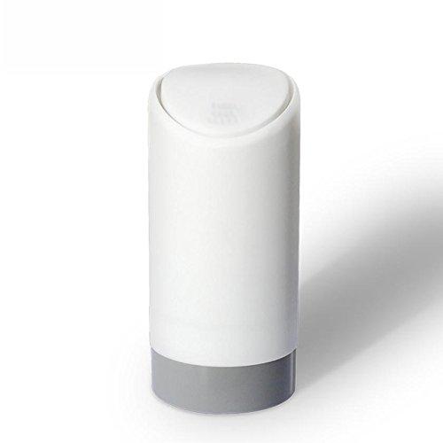 WC Silizium Auto Innenraum Schöpflöffel Null Änderung Aufbewahrungsbox Autos Müll Müll Müll LKW-Müllbeutel, Milk White