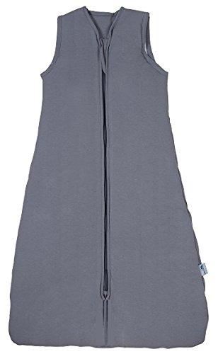 Produktbild Schlummersack Kinderschlafsack für den Sommer in 1.0 Tog - Anthrazit - 6-10 Jahre / 150 cm