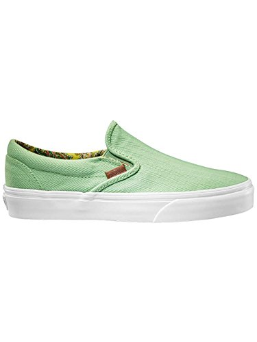 Vans  Classic Slip-on, Chaussures de skateboard pour homme vert mid century pastel green (mid century) pastel gree