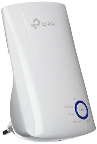 TP-Link N300 TL-WA850RE - Repetidor extensor de red WiFi (2,4 GHz, 300 Mbps, puerto Ethernet, modo AP y extensor, antenas internas)