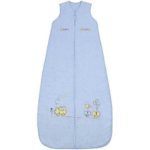 Slumbersac - Saco de dormir para bebé con diseño de tren (todo el año, 2,5 tog, tallas de 0-3 años), color