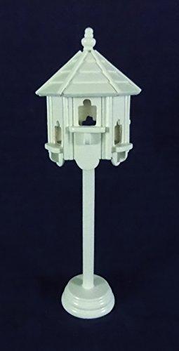 Puppenhaus Miniatur Gartenmöbel 1:12 Weiß Holz Taubenschlag Vogelhaus