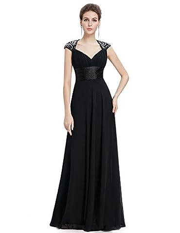 Ever Pretty V-Col Maxi Robe de Soirée de Style Empire