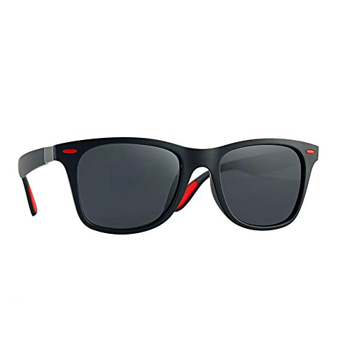 Lbyhning Sonnenbrille Herren,Klassisch Polarisierte Sonnenbrille Männer Frauen Driving Square Frame Sonnenbrille Männliche Schutzbrille Uv400