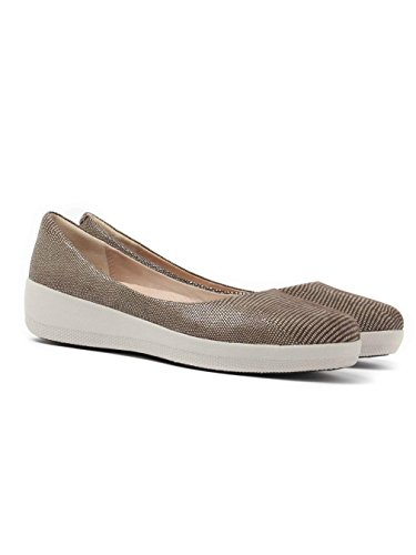 Fitflop Lizard, Infradito Donna Marrone (Chocolate)