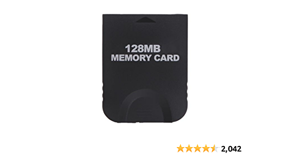 Gamilys 128mb Memory Card Compatible With Wii Gamecube Computers Accessories