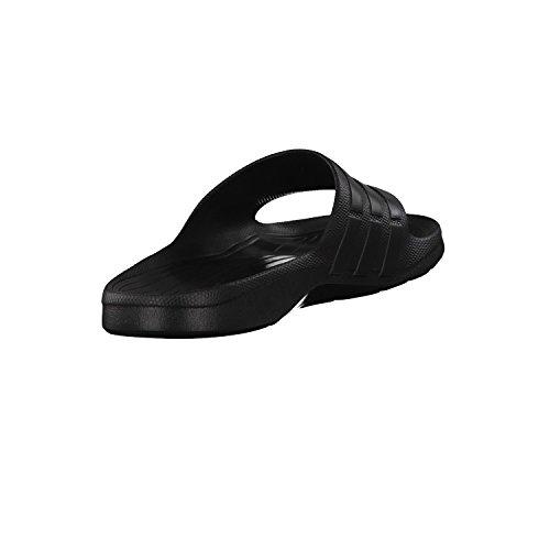 adidas Unisex-Erwachsene Duramo Slide Zehentrenner Nero (Cblack/Cblack/Cblack)