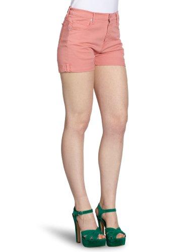 Firetrap Damen Jeans Bermuda WBAX04, Gr. 25, Rosa (watermelon)