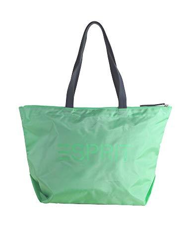 ESPRIT Damen Handtasche Tasche Shopper Cleo shopper Grün 019EA1O020-380 -