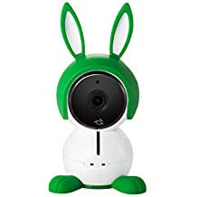 Arlo Baby ABC1000-100EUS Ecoute Bébé Vidéo Tout-en-un, Capteurs d'Air, Alertes de Mouvement, Monitoring sans Contrainte via l'Appli Arlo Gratuite