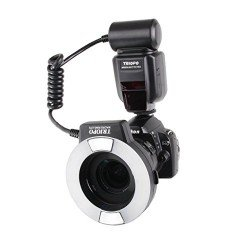 Triopo Makro Ringblitz TR-15EX N TTL für Nikon