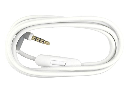 Replacement Audio Cable Cord Wire with In-line Microphone and Control Compatible with Beats by Dr Dre Headphones Solo/Studio/Pro/Detox/Wireless/Mixr/Executive/Pill