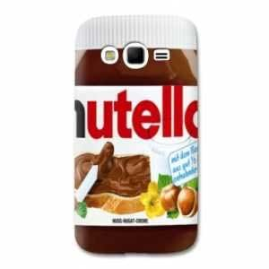 coque Samsung Galaxy Grand / Grand Plus Trompe oeil - - nutella B -