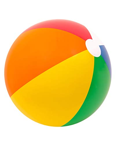 Horror-Shop Wasserball Rainbow 65cm
