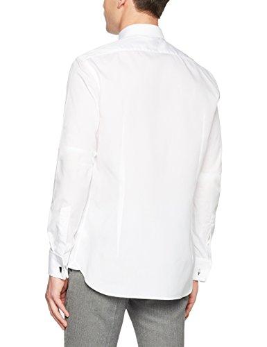 van Laack Herren Freizeithemd Ret-Dltfn Weiß (Weiß 000)