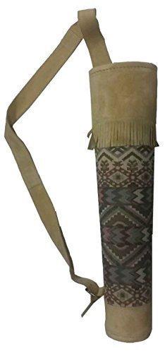 Traditioneller Rücken - Köcher, Indianer - Rückenköcher, Pfeilköcher