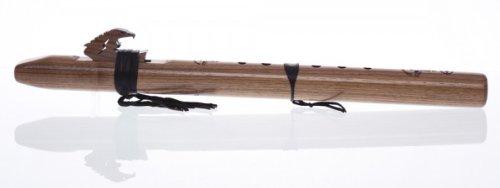 Indianerflöte Condor Bass, d' - Moll, pentat. Walnuss, neu mit DE/EN Spielanleitung, DVD (engl.)