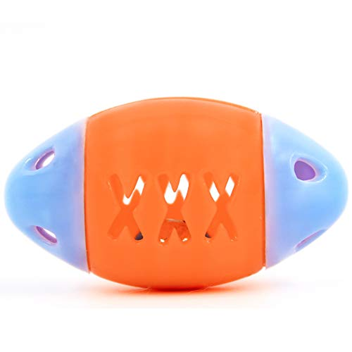 NaiCasy Tiere Zahnbürste Fußball Hundespielzeug Machen Haustiere glücklich zufällige Farbe 1pc, Kleintierbedarf (Hunde Fußball Ball Kostüm)