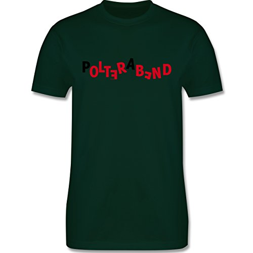JGA Junggesellenabschied - Polterabend - Herren Premium T-Shirt Dunkelgrün