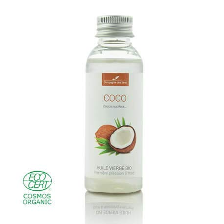 COCO - 50mL - Huile Végétale Certifiée BIO, garantie vierge et de première...