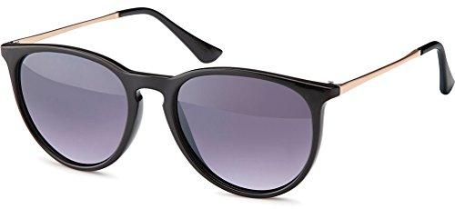 UVprotect Retro Horn Optik Sonnenbrille W25-4
