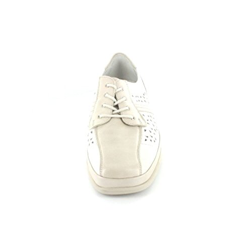 Waldläufer , Chaussures de ville à lacets pour femme Blanc - Blanc