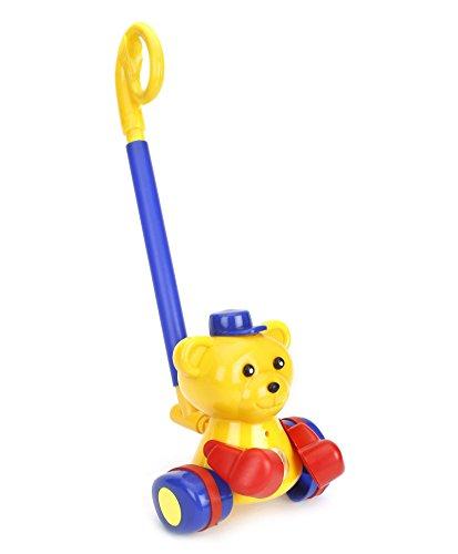 Playking Ratnas Teddy Rider - Yellow