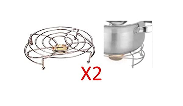 FOOD PLATE WARMER SINGLE CHAFING CHROME BURNER Restaurant Home 17.5 x 5.5cm.