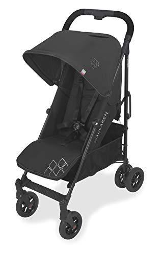 Maclaren Techno Arc - Silla de paseo ligero, manillar unido, para recién nacidos hasta los 25kg, asiento multiposición, suspensión en las 4 ruedas