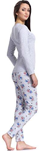 Merry Style Pyjama Femme 1198 Melange-1A