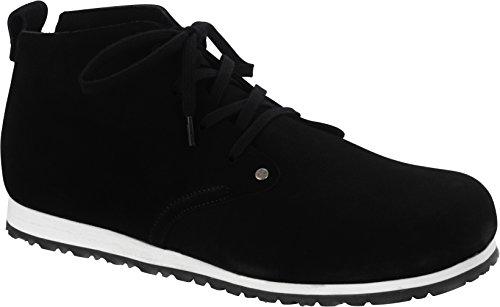Birkenstock-Dundee-Plus-Men-Velourseder-Schuhe-normal-black-42