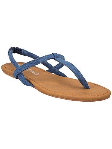 BILLABONG - Sandales SEE MOON - denim Denim