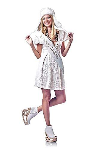 (Fliyeong Premium Qualität 1PC Fashion Damen Etiquette Gürtel Hen Party Schärpe Schärpe Junggesellinnenabschied Mumie Bedruckt Kostüme für Hochzeit Party Dekoration)