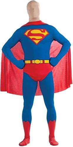 2 General Superman Kostüm Zod - Generique - Hautenges Superman-Kostüm für Erwachsene