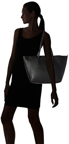 Joop! - Nature Grain Helena Shopper Lhz, Borsa a spalla Donna nero (nero)