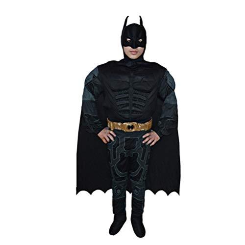 ASJUNQ Captain America Cosplay Kostüm Red Iron Man Batman Spiderman Superman Halloween ErwachseneKostüm Thema Party Movie Requisiten,D-OneSize